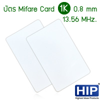 บัตร Mifare Card 1K 0.8 mm 13.56 MHz CM-1K